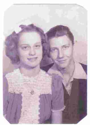 Wilma Lee and Elbert Franklin Pope (my grandparetns)