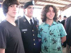 Sam, Esteban and their cousin Austin