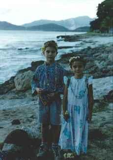 Benjamin and Alexandra - Hawaii 1997