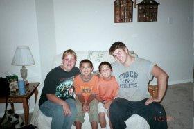 Amanda, Esteban, Sam and Ben 2004