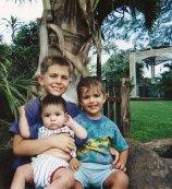 Ben, Sam and Esteban 1997
