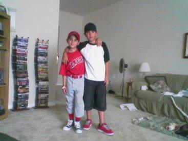 Sam and Esteban 2005