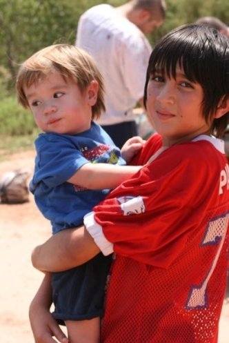 Brodie and Uncle Sam 2008