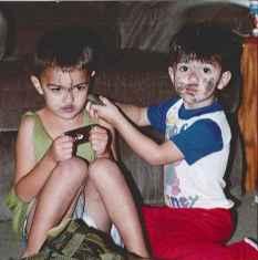 Esteban and Samuel - North Carolina 1999