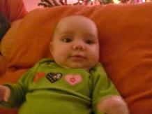 Daniela 1st Christmas 2010