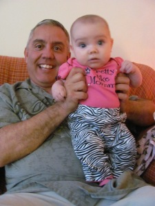 Papa Pete and Dani 2010