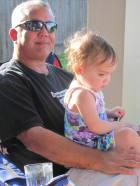 Papa Pete and Dani 2012