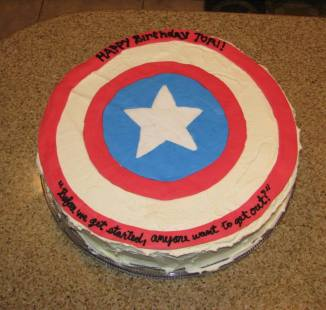 Captain America Birthday