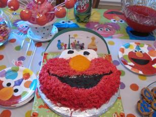 Elmo Birthday