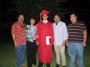 Uncle Raul, Aunt Sylvia, Uncle Gilbert and Cousin Richard