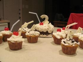 Cupcakes and Smash cake