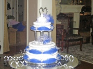 Blue & Silver Wedding