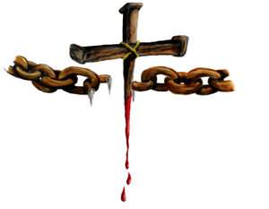 Jesus broke the chains