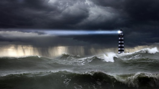 Imagini pentru lighthouse in storm